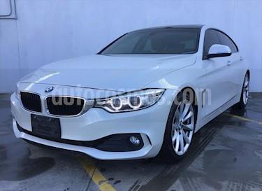 BMW Serie 4 420iA Gran Coupe Aut usado (2016) color Blanco precio $340,000