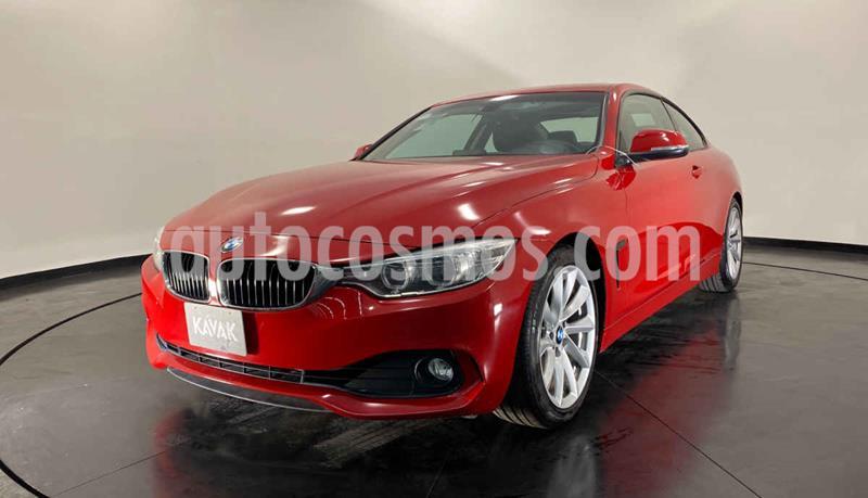 BMW Serie 4 420iA Coupe Aut usado (2016) color Rojo precio $364,999