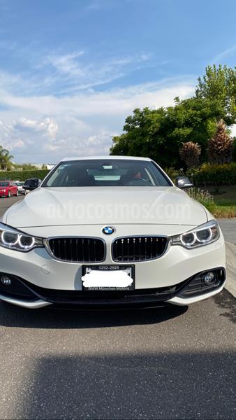 BMW Serie 4 430iA Coupe Sport Line Aut usado (2017) color Blanco Mineral precio $440,000