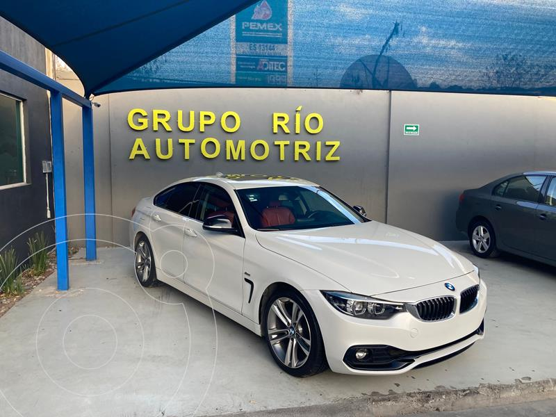 Foto BMW Serie 4 420iA Gran Coupe Sport Line Aut usado (2018) color Blanco precio $535,000