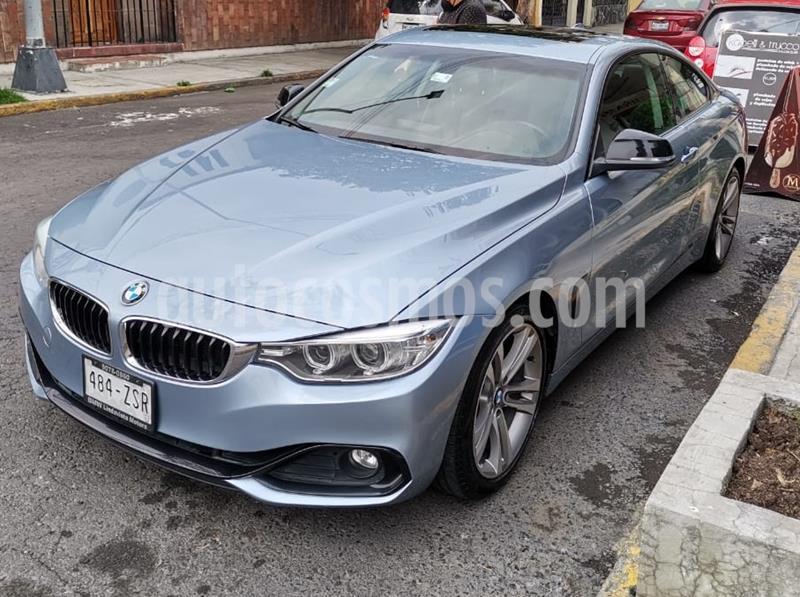 BMW Serie 4 428iA Coupe Sport Line Aut usado (2014) color Azul precio $285,500