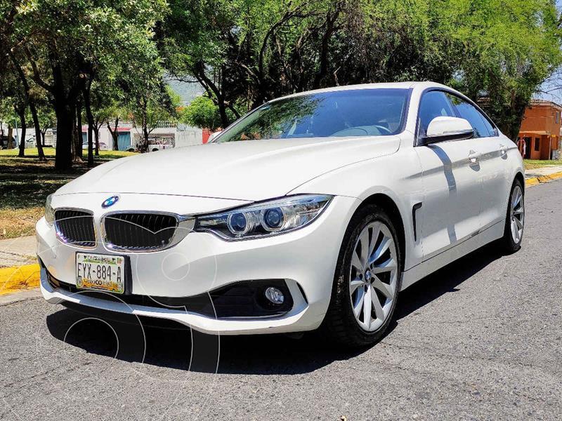 Foto BMW Serie 4 420iA Gran Coupe Aut usado (2016) color Blanco precio $360,000