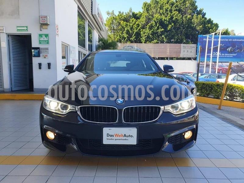 BMW Serie 4 440i Gran Coupe M Sport Aut usado (2017) color Negro Zafiro precio $459,900