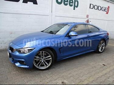 BMW Serie 4 2p 440i Coupe M Sport L6/3.0/T Aut usado (2018) color Azul precio $640,000