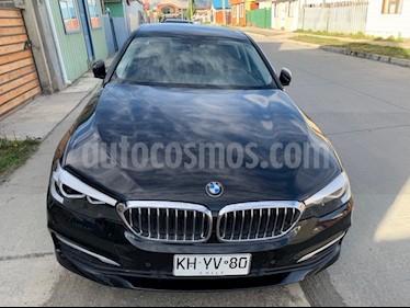 BMW Serie 5 520i   usado (2018) color Negro precio $26.000.000