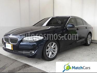 Foto venta Carro usado BMW Serie 5 520i (2012) color Azul precio $65.990.000