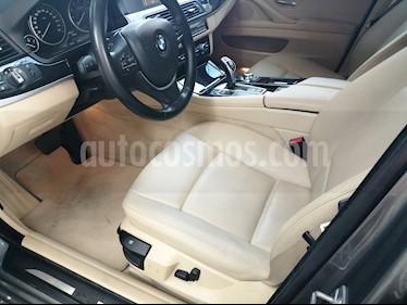 BMW Serie 5 520i usado (2014) color Gris precio $72.500.000