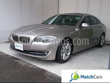 Foto venta Carro usado BMW Serie 5 520i (2012) color Plata precio $71.990.000