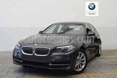 Foto venta Auto usado BMW Serie 5 520iA (2016) color Gris precio $440,000