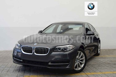 BMW Serie 5 520iA usado (2016) color Gris precio $365,000