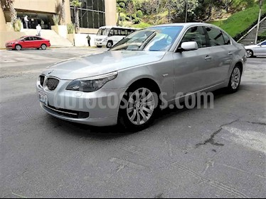 Foto venta Auto usado BMW Serie 5 525iA Lujo (2008) color Plata precio $135,000