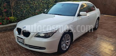 Foto BMW Serie 5 525iA usado (2009) color Blanco precio $160,000