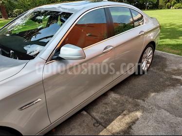 Foto venta Auto usado BMW Serie 5 528iA Lujo  (2014) color Plata Titanium precio $390,000