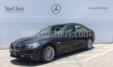 Foto venta Auto usado BMW Serie 5 528iA Luxury Line (2015) color Gris precio $359,900