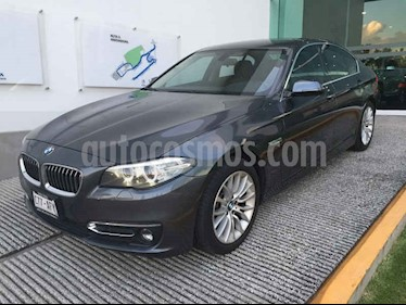 Foto venta Auto usado BMW Serie 5 528iA Luxury Line (2016) color Gris precio $465,000