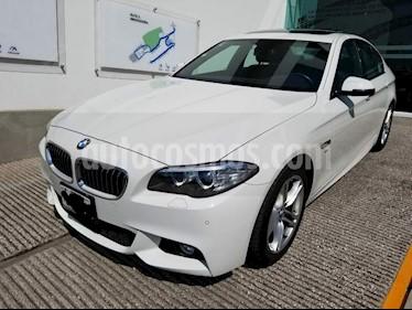 Foto venta Auto usado BMW Serie 5 528iA M Sport (2016) color Blanco Alpine precio $480,001