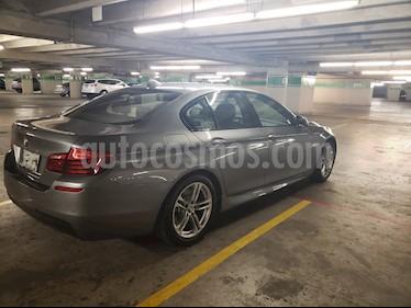 Foto venta Auto usado BMW Serie 5 528iA M Sport (2016) color Gris Space precio $585,000