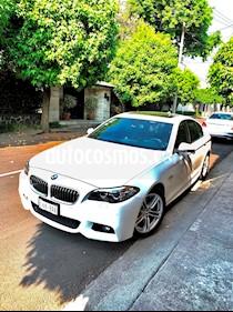BMW Serie 5 528iA M Sport usado (2016) color Blanco Mineral precio $560,000