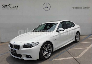 Foto BMW Serie 5 535iA M Sport usado (2015) color Blanco precio $499,900