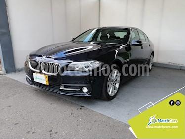 BMW Serie 5 520d  usado (2014) color Azul Imperial precio $73.790.000