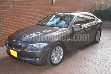 BMW Serie 5 520i usado (2012) color Gris precio $38.000.000