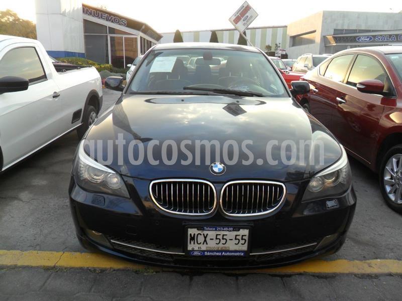 Foto BMW Serie 5 530i Top usado (2009) color Azul precio $165,000