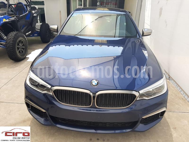 BMW Serie 5 550iA xDrive usado (2018) color Azul Imperial precio $890,000
