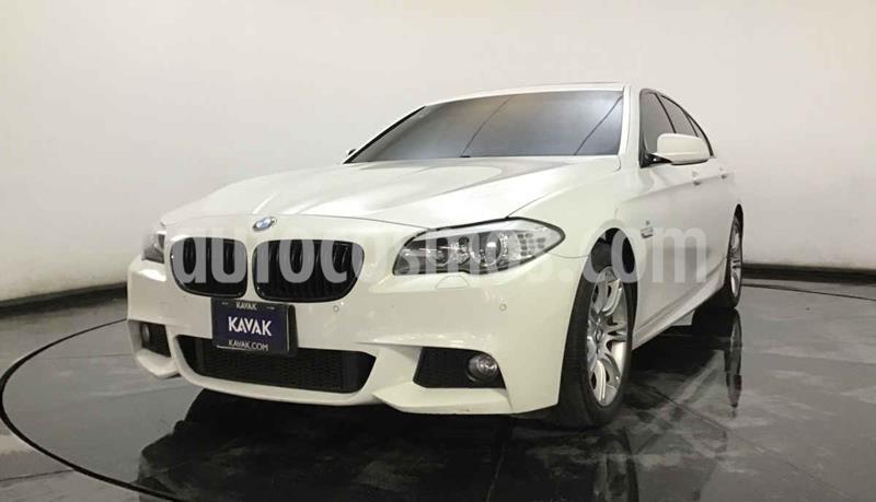 BMW Serie 5 535iA M Sport usado (2012) color Blanco precio $312,999