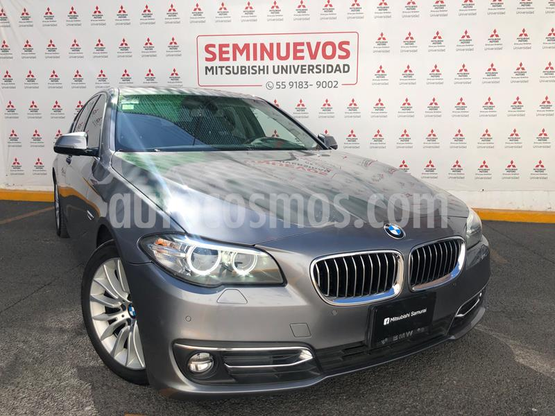 BMW Serie 5 528iA Luxury Line usado (2016) color Gris Space precio $365,000