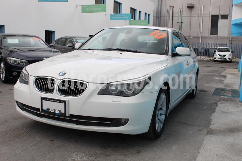 BMW Serie 5 525iA Top usado (2010) color Blanco precio $179,000