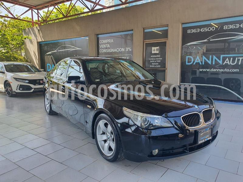 BMW Serie 5 530i Top usado (2005) color Negro precio $129,000