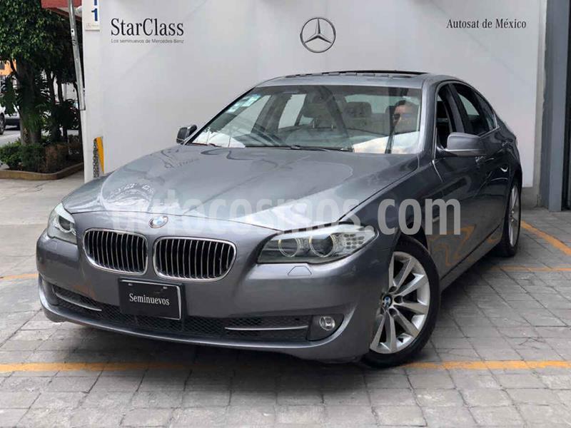 BMW Serie 5 528iA Lujo usado (2012) color Gris precio $240,000