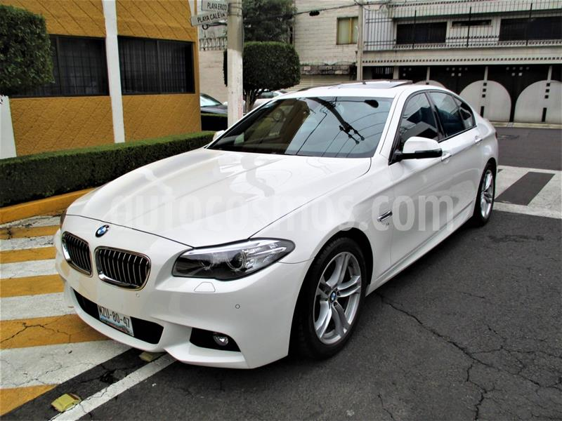 BMW Serie 5 528iA M Sport usado (2016) color Blanco Mineral precio $379,900