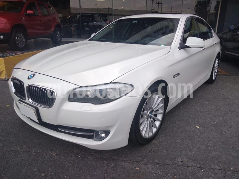 BMW Serie 5 535iA M Sport usado (2012) color Blanco Alpine precio $285,000