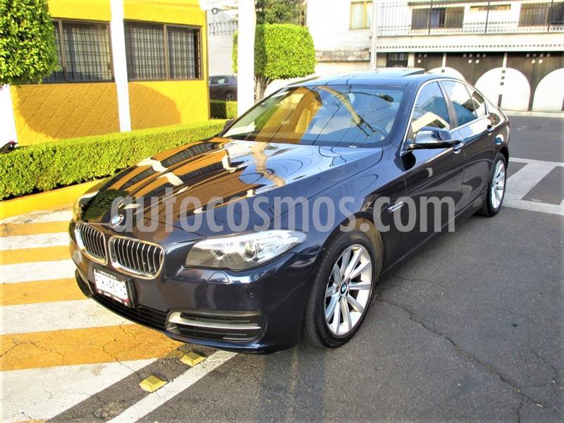 BMW Serie 5 520iA usado (2014) color Azul Imperial precio $249,900