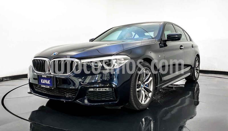 BMW Serie 5 540iA M Sport usado (2018) color Azul precio $809,999