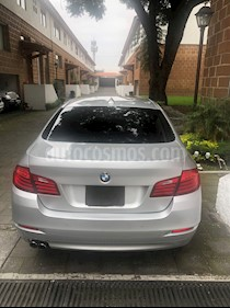 foto BMW Serie 5 520iA Top  usado (2014) color Plata precio $309,000
