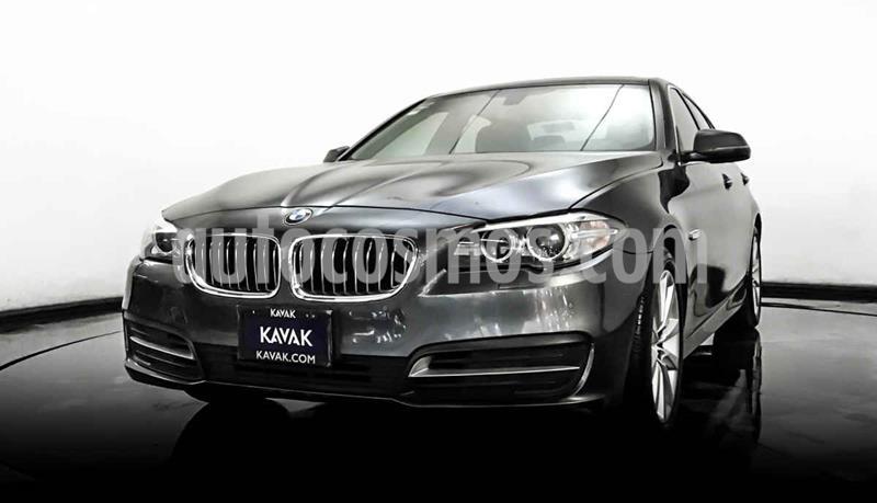 BMW Serie 5 520iA usado (2016) color Gris precio $394,999