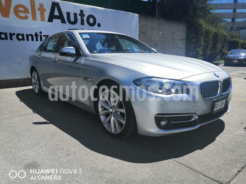 BMW Serie 5 528iA usado (2014) color Plata precio $330,000