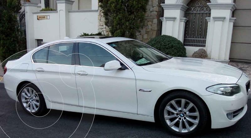 Foto BMW Serie 5 520iA usado (2014) color Blanco precio $255,000