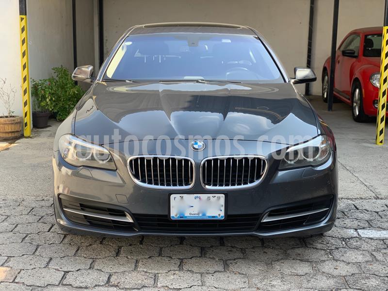 BMW Serie 5 520iA usado (2016) color Gris precio $415,000
