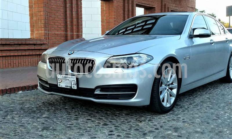 BMW Serie 5 520iA usado (2016) color Gris precio $325,000