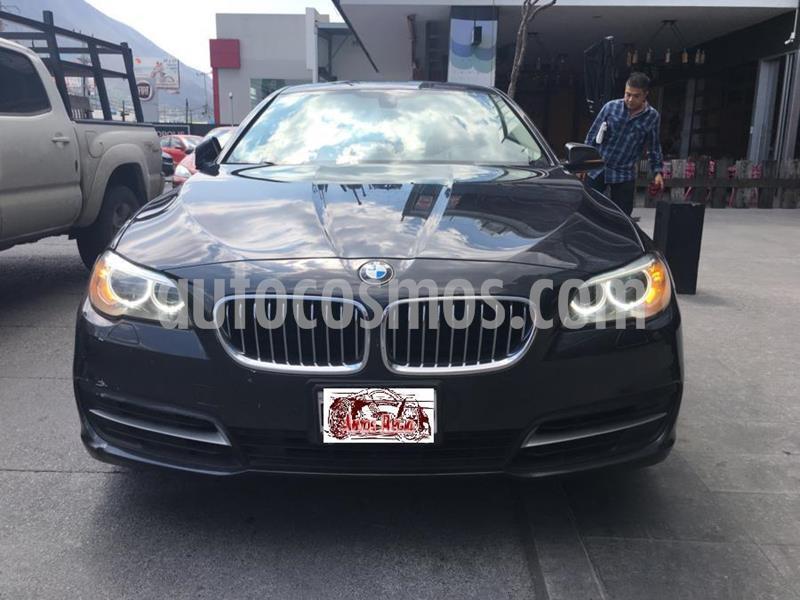 BMW Serie 5 520iA Top  usado (2014) color Negro precio $369,900