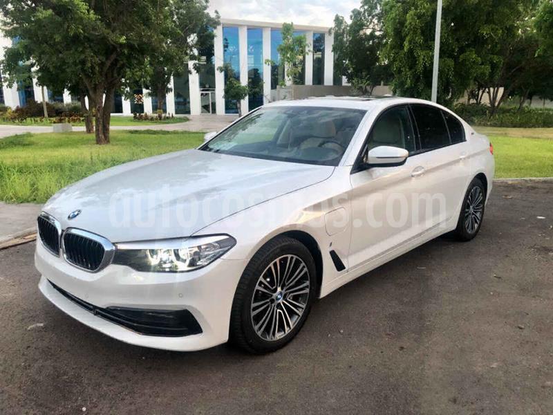 BMW Serie 5 530e Sport Line (Hibrido Conectable) usado (2019) color Blanco precio $830,000