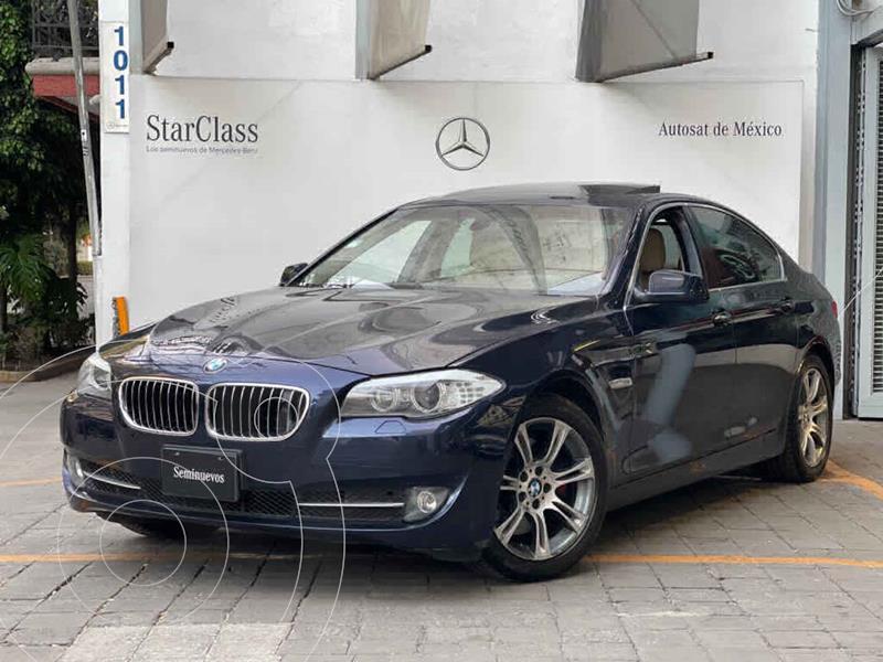 Foto BMW Serie 5 535iA Top usado (2012) color Azul precio $240,000