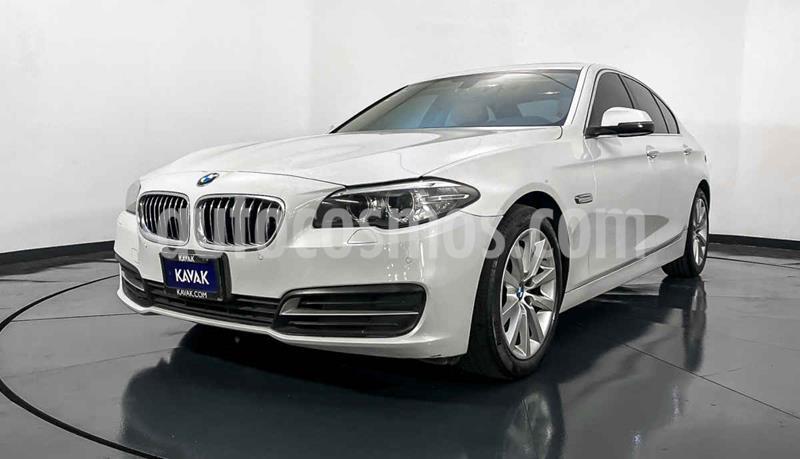 BMW Serie 5 520iA usado (2016) color Blanco precio $404,999