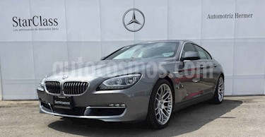 BMW Serie 6 650iA Grand Coupe  usado (2013) color Plata precio $599,900