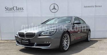 BMW Serie 6 4p 650i Gran Coupe V8 4.4 BT Aut usado (2013) color Gris precio $549,900