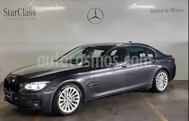 Foto venta Auto usado BMW Serie 7 750LiA (2013) color Gris precio $689,000