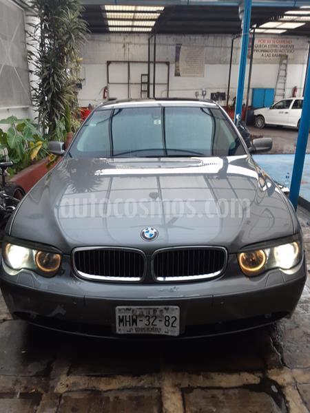 BMW Serie 7 745LiA usado (2002) color Gris precio $120,000